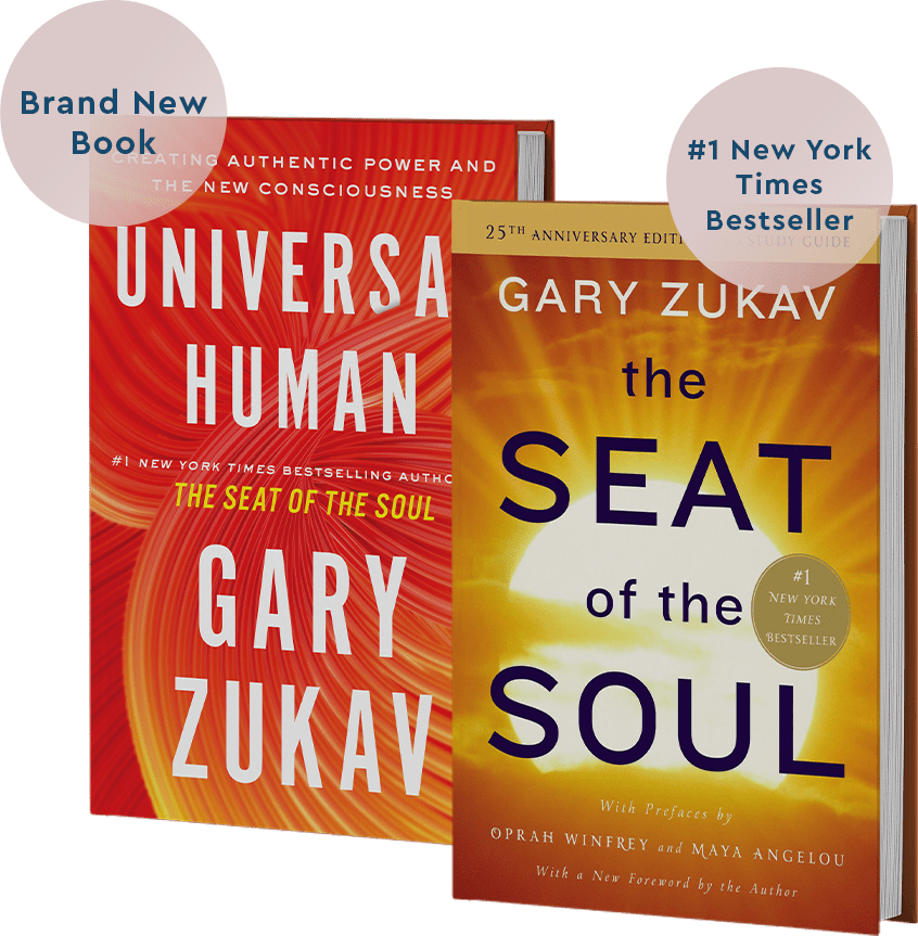 Universal Human and Seat Of The Soul Books